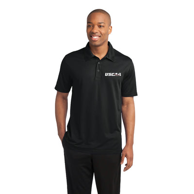 Mens Active Textured Polo