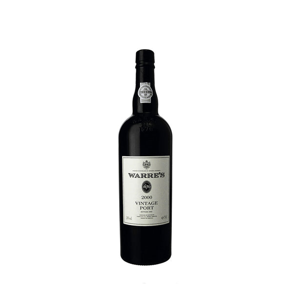 Warre's Vintage Port 2000, Douro, Portugal - The Half Bottle Company