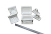 5 Piece Bath Accessory Set - White