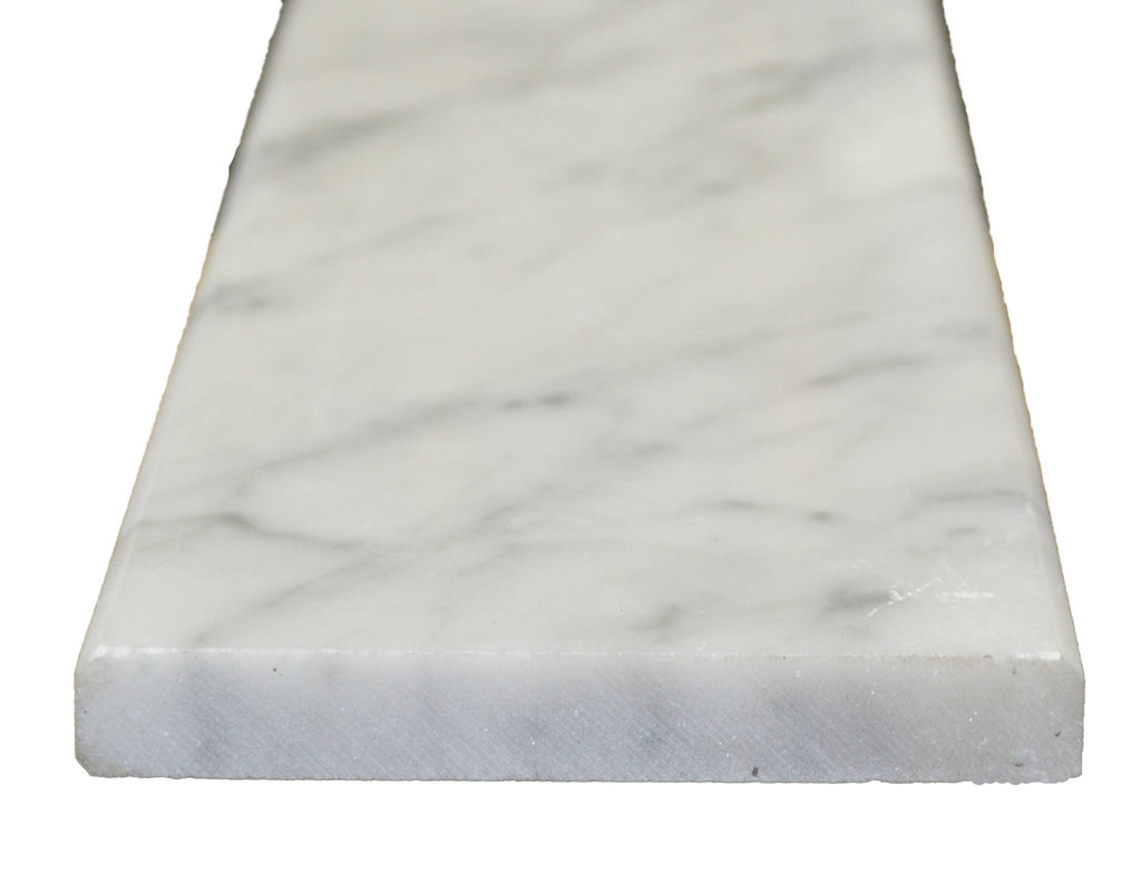 "72"" x 6"" x 5/8"" White Carrara Sill"