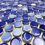 Penny Round Medium Blue