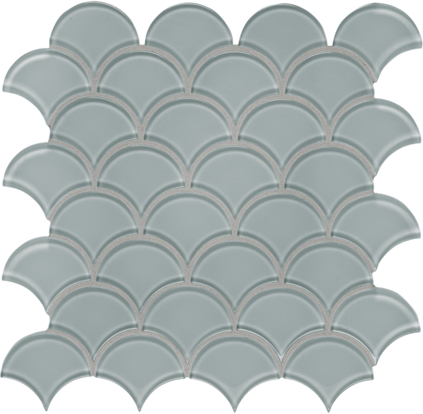 POM Scallop Quiet Gray