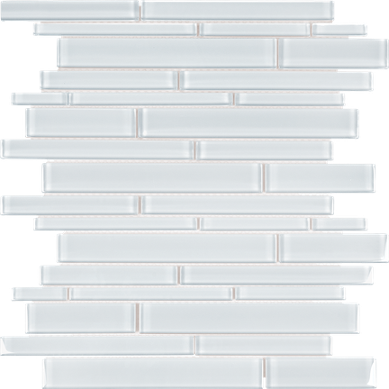 POM Random Strips Pure White