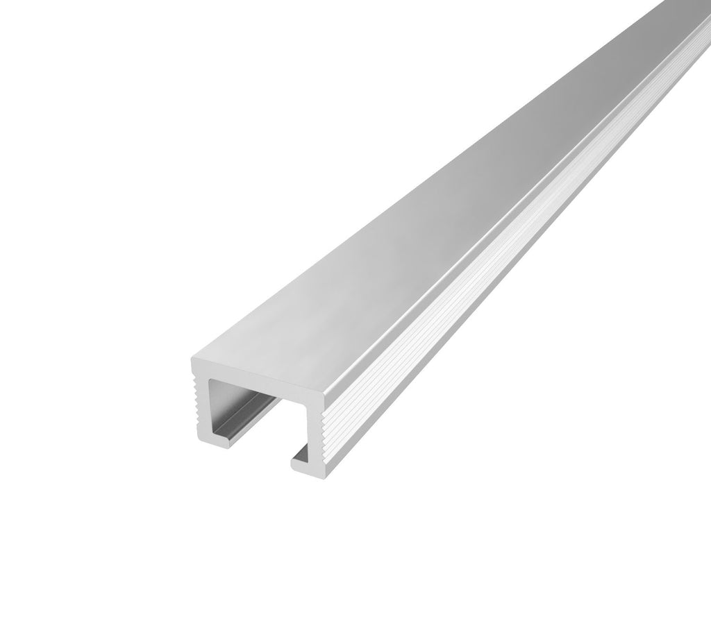 3/8 x 8' Silver Metal Listello (10mm)