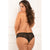 Rene Rofe - Hot Hook U Pieces Crotchless Panty 3X/4 (Black)