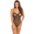 Rene Rofe - Undone See Through Bodysuit Costume OS (Black) | Zush.sg
