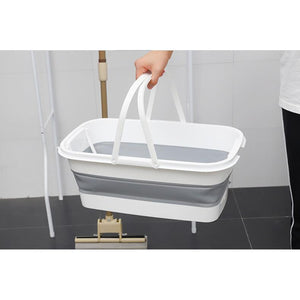 Zush - Self Wash Mop and Collapsible Wash Pail Mopping System
