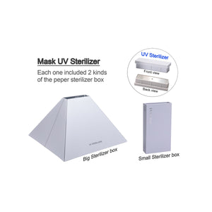 Zush - UV Disinfectant Pyramid (White)