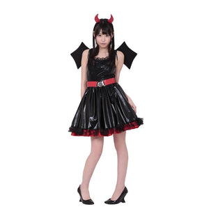 BeWith - Angel Girl in Devildom Costume (Black) | Zush.sg