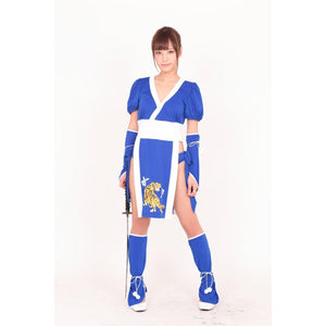 BeWith - Blue Dragon Kungfu Costume (Blue) | Zush.sg