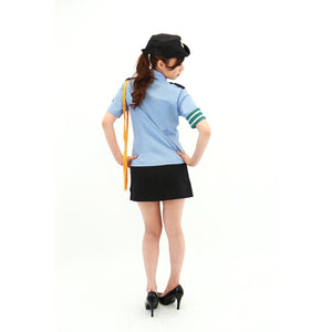 BeWith - Runaway Police Costume (Multi Colour) | CherryAffairs Singapore