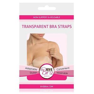 Bye Bra - Non Slippery and Reusable Transparent Bra Straps (Clear) | CherryAffairs Singapore
