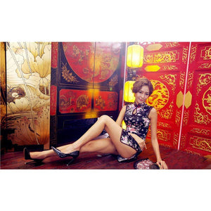 Day Dream - Starfire Cheong Sam Style Chinese Costume Set (Multi Colour) Costumes 4573126270849 CherryAffairs