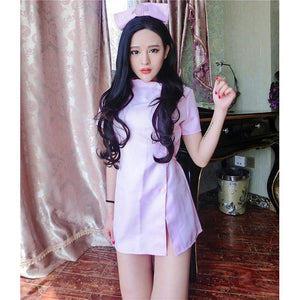 EROX - Royal Road Sexy Nurse Costume (Pink) | Zush.sg