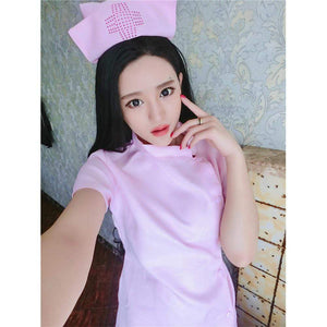 EROX - Royal Road Sexy Nurse Costume (Pink) | CherryAffairs Singapore