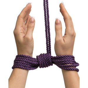 Fifty Shades Freed - Want to Play Silk Rope 10 m (Purple) | CherryAffairs Singapore