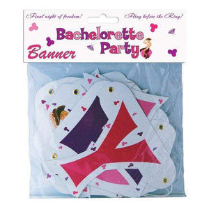 Hott Products - Bachelorette Party Letter Banner (Multi Colour) | Zush.sg