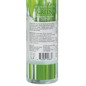 Intimate Earth - Green Tea Tree Oil Toy Cleaner Spray 4.2 oz Toy Cleaners 854397006653 CherryAffairs
