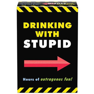 Kheper Games - Drinking with Stupid Drinking Game (Black) | Zush.sg