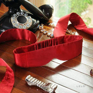 Lelo - Intima Silk Blindfold (Red) | CherryAffairs Singapore