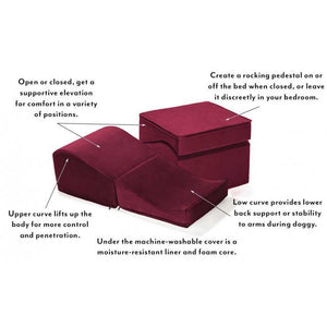 Liberator - Flip Ramp Sex Furniture (Merlot) | CherryAffairs Singapore