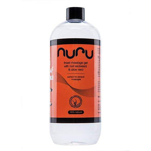Nuru - Massagel Gel with Nori Seaweed Aloe Vera 500ml Massage Oil CherryAffairs