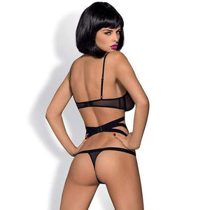 Obsessive - Bondy Teddy Costume L/XL (Black) - Zush.sg