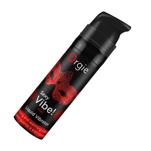 Orgie - Sexy Vibe Liquid Vibrator Gel Tingling Hot Effect 15ml | CherryAffairs Singapore