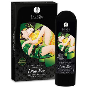 Shunga - Erotic Art Aphrodisia Lotus Noir Sensitizing Gel For Couples 2 oz | Zush.sg