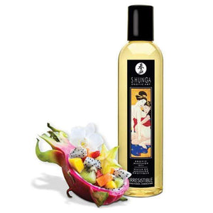 Shunga - Erotic Art Erotic Massage Oil Irresistible Asian Fusion 8oz | Zush.sg