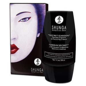 Shunga - Secret Garden Aphrodisia Femal Orgasm Enhancing Cream for Her 1 oz | Zush.sg