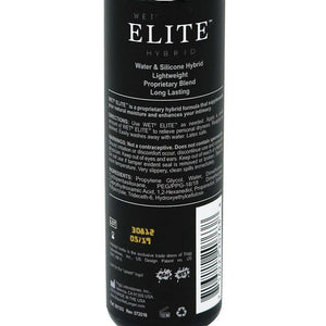 Wet - Elite Hybrid Personal Lubricant 3 oz (Lube) Lube (Silicone Based) - CherryAffairs Singapore