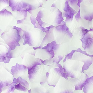 Zush - Naughty Rose Petals (White/Purple) - Zush.sg