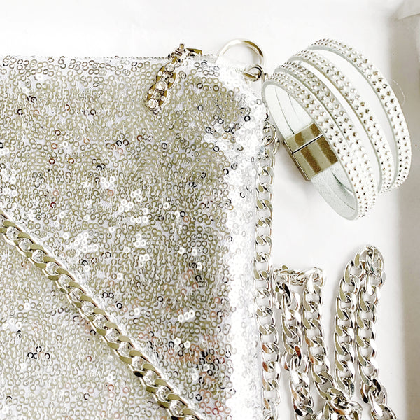 Silver Sequin - Luxe Happiness Box