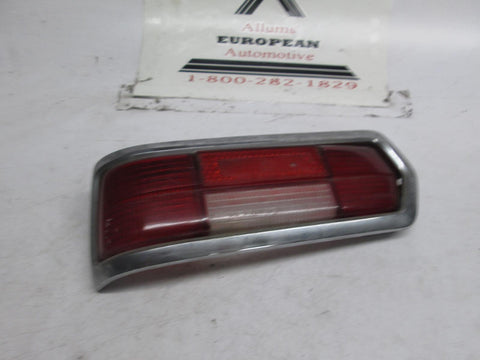 Mercedes W108 left driver side tail light lens 280sel 300sel