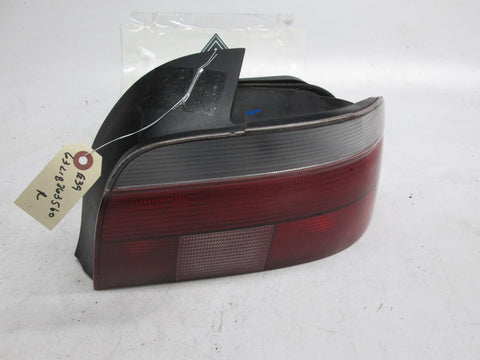 97-00 BMW E39 528i 540i right tail light 63218363560 clear lens