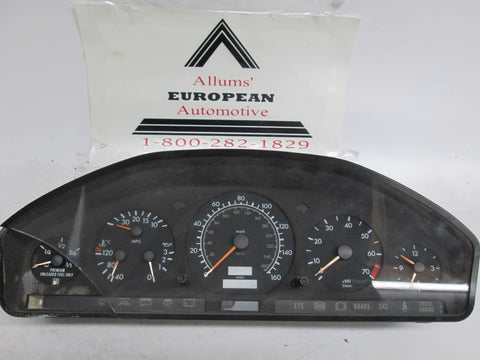 Mercedes W140 S class instrument cluster 1405401848 #22