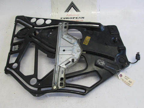 Mercedes convertible right rear window regulator w/ motor 1246702003