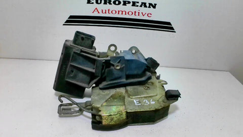 BMW E36 right front door latch lock actuator