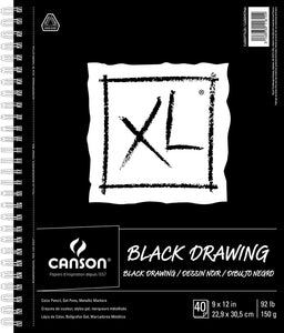Canson Black Drawing XL