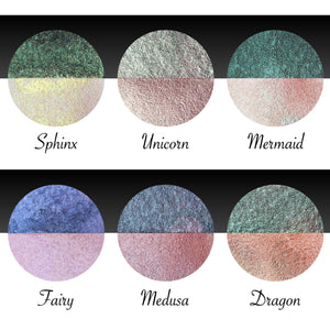 "Pearl Color Set ""Magical Creatures"""