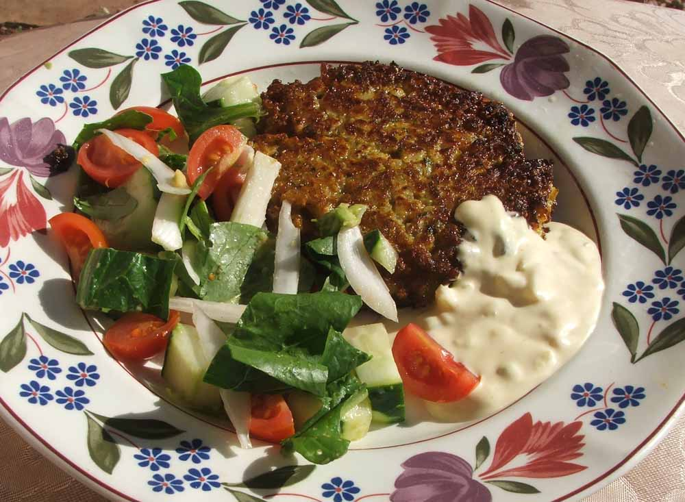Child-friendly vegetable fritters