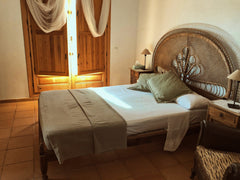 bedroom in villa in spain catalonia holiday retreat calm and serene
