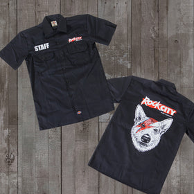 Rock City Music Dickies Work Shirt