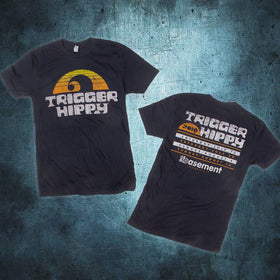 Trigger Hippy Limited Basement Event Tee Black