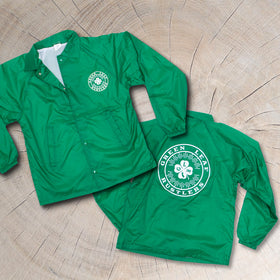 Green Leaf Rustlers Coach's Jacket