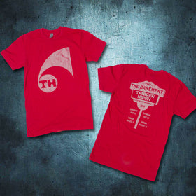 Trigger Hippy Limited Basement Event Tee RED