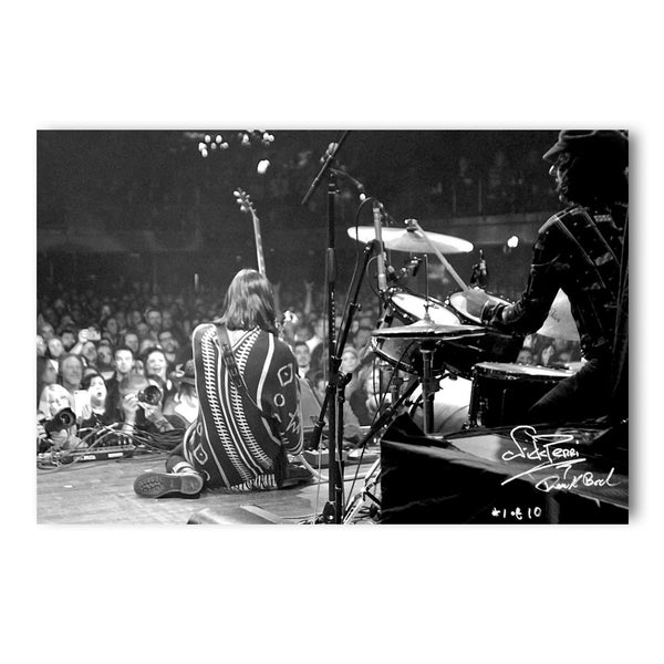 NICK PERRI 'LIVE AT THE FILLMORE' – LIMITED EDITION AUTOGRAPHED AND NUMBERED PHOTO PRINT