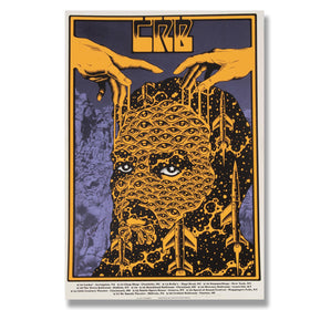CRB Show Poster East Coast September Run SIGNED BY CR