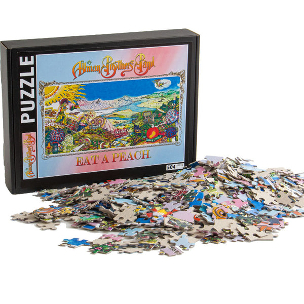Allman Brothers Band Eat a Peach 504 Piece Puzzle
